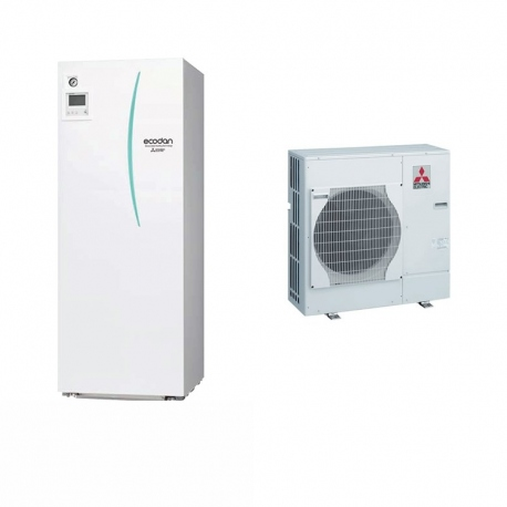 PUHZ-W112VHA + EHPT20X-VM2C